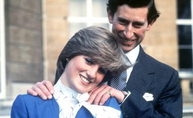 Ser du hva som er feil med bildene av prins Charles og prinsesse Diana?