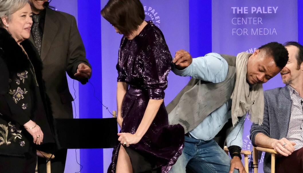 Cuba Gooding Jr. kjørte et frekt skjørteløft på motspiller Sarah Paulson. Det skulle han ikke ha gjort ...