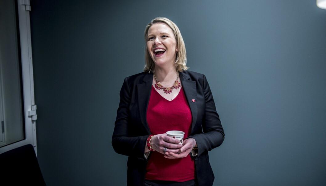 <strong>BLE MAMMA:</strong> Innvandrings- og integreringsminister Sylvi Listahug (39), som for tida er i permisjon fra statsrådjobben, har fått en sønn. Foto: Thomas Rasmus Skaug / Dagbladet