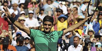 image: Federer enkelt videre i Miami Open