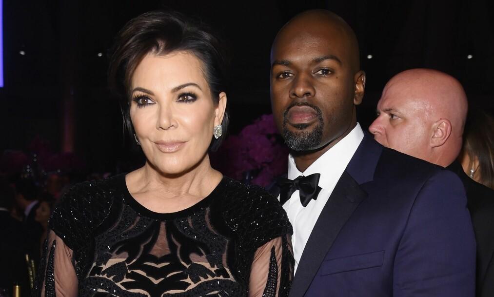 SLUTT: Det skal angivelig være slutt mellom Kris Jenner og hennes yngre kjæreste Corey Gamble, melder Radar Online. Foto: NTB Scanpix