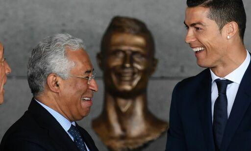 image: Ronaldos nye statue vekker oppsikt: - Forferdelig