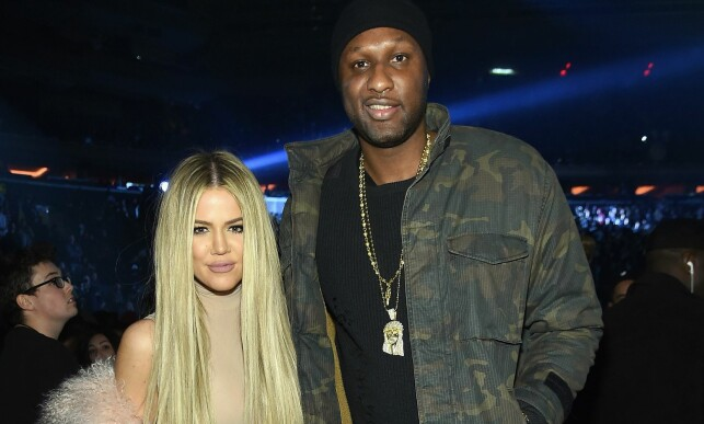 NEW YORK, NY - FEBRUARY 11: Khloe Kardashian and Lamar Odom attend Kanye West Yeezy Season 3 on February 11, 2016 in New York City.   Jamie McCarthy/Getty Images for Yeezy Season 3/AFP == FOR NEWSPAPERS, INTERNET, TELCOS & TELEVISION USE ONLY ==