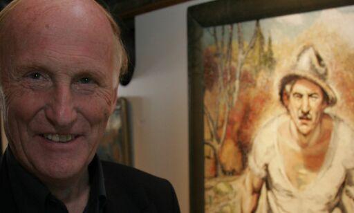 image: Kunstsamler Haakon Mehren vil gi bort en multimillion-gave. Men Oslo har satt kunst-gaven på vent