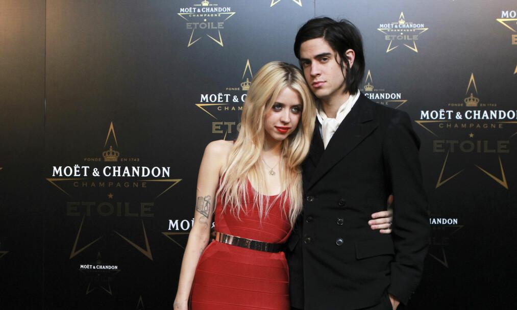 DØDE: Peaches Geldof forlovet seg med rockeren Thomas Cohen i 2011. Sammen fikk de to sønner. Foto: NTB Scanpix.