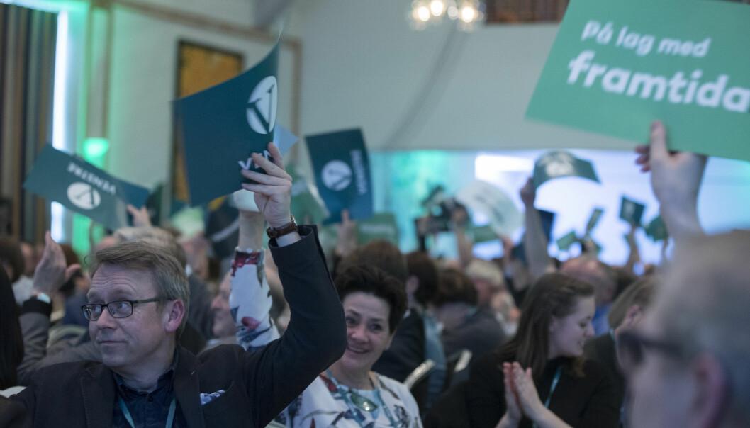 <strong>FLUKT:</strong> Landsmøtet i Venstre slår fast at hensynet til barnets beste skal gjelde i asylpolitikken. Foto: Terje Pedersen / NTB scanpix