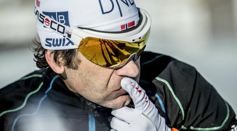 SKEPTISK: Johan Kaggestad er kritisk til at Ole Einar Bjørndalen ikke har vært på samlinger med resten av skiskytterlandslaget. Foto: Thomas Rasmus Skaug / Dagbladet