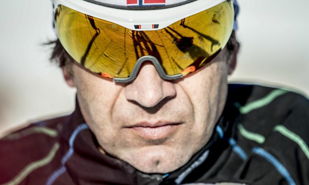 IKKE MED: Ole Einar Bjørndalen er ikke med i den norske skiskyttertroppen til Pyeongchnag. Foto: Thomas Rasmus Skaug / Dagbladet