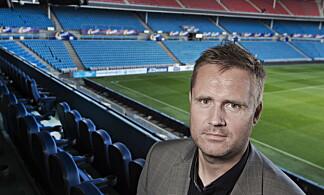 KRITISK: Knut Kristvang , daglig leder i Fotball Media som selger rettighetene til TV og andre medier for NFF. Foto: Hans Arne Vedlog  /  Dagbladet