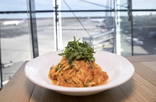 Jamie's Italians bestselger, uansett land eller restaurant: Prawn Linguine.