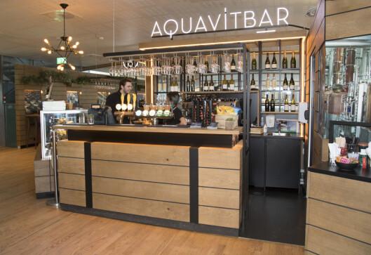 UTLAND: Aquavit bar ligger på mezzaninen over Foodmarket.