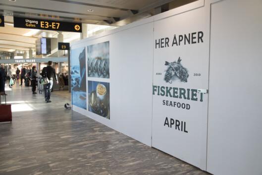 Fiskeriet, Havsalt og Haven åpner i gangen mellom Pir Nord og utland.