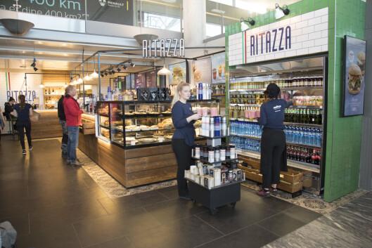 Ritazza flyttet litt lenger inn på innlandsdelen i høst, og får selskap av én til før åpningen 27. april.