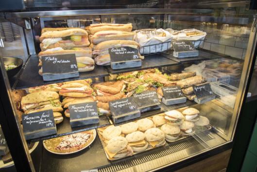 Ritazza byr også på brødmat i ulike versjoner.