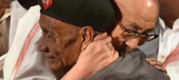 Sist de så hverandre var i 1959. Da var Dalai Lama på flukt fra kinesiske styrker