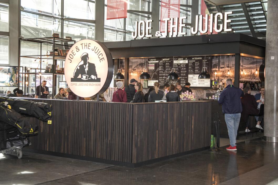Joe & the Juice har flyttet inn der Starbuck's lå før.