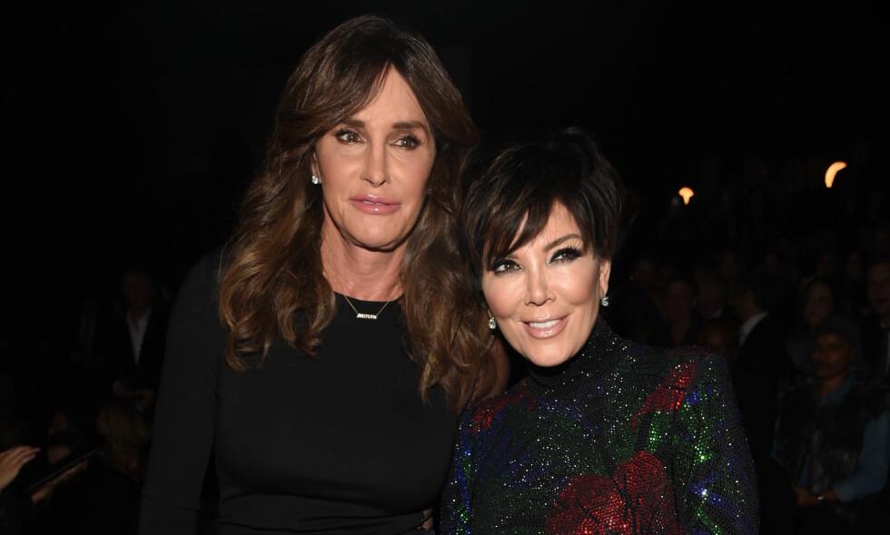 SKRIVER BOK: Caitlyn Jenner (t.v.) er i ferd med å gi ut bok om sitt liv. Det skal blant annet gå hardt ut over ekskona Kris Jenner. Foto: NTB Scanpix.