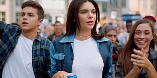 image: Kendall Jenners Pepsi-reklame totalslaktes