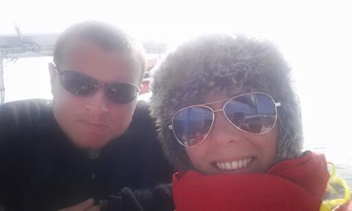FRISKT: Over Nordsjøen var det tidvis kaldt.