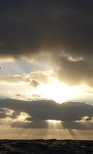 LYSET: Himmelfargene på Porto Santo er kort og godt fantastiske.