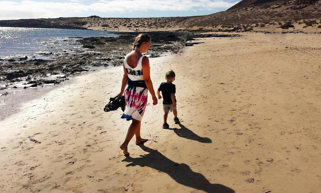 NI KILOMETER: Porto Santo har mye å by på, blant annet ni kilometer sandstrand.