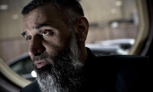 DØMT: Anjem Chouadry soner en dom for å ha overtrådt den britiske terrorloven, og for å støtte terrorgruppa IS, som er forbudt i Storbritannia. Foto: Tomm W. Christiansen / Dagbladet