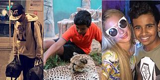 image: 15 år og millionær: Rashed henger med stjernene, eier 50 løver og bruker 40 000 kroner på klær i uka