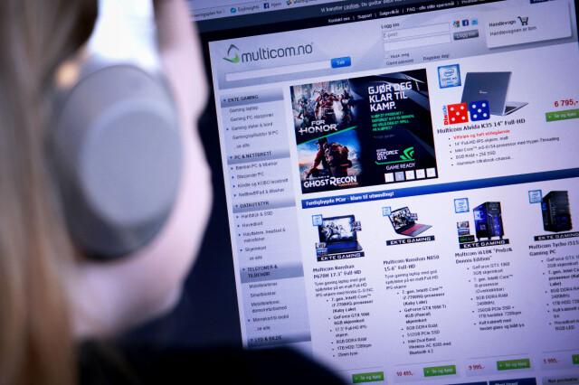 09e8db3f FEIL PRISER: Multicom har som alle andre nettbutikker feil priser fra tid  til annen.