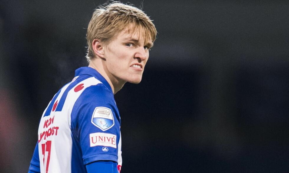 PRØVER LYKKEN I NEDERLAND: Martin Ødegaard er lånt ut fra Real Madrid til Heerenveen. Foto: Jon Olav Nesvold / NTB Scanpix