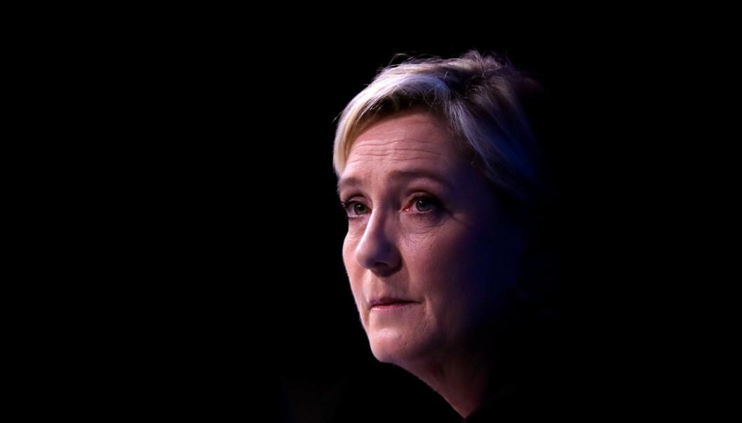 Det eneste som er ganske sikkert i den franske valgkampen, er at Marine Le Pen (48) blir en av vinnerne i første valgomgang