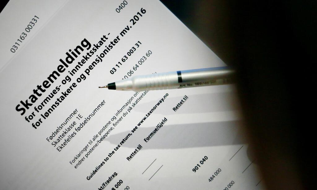 GITT EN PENGEGAVE I 2016? Det kan du få skattefradrag for. Foto: Ole Petter Baugerød Stokke