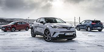image: Stortest: Her er tre av de nyeste hybridene på markedet. Det er lett å la seg imponere av vinneren