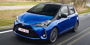 image: Test: Dette digger vi ved den lille Toyotaen