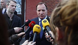 Statsminister Löfven: - Alt tyder på at det er et terrorangrep