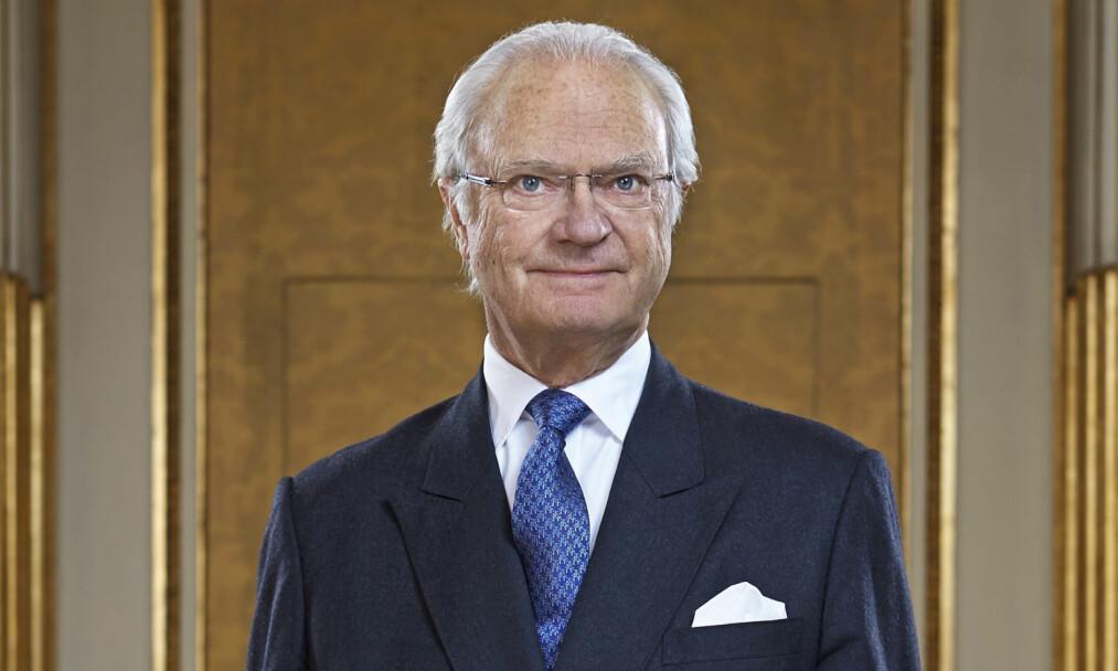 <strong>VISER SIN OMTANKE:</strong> Sveriges konge, Carl Gustaf, gir sine varmeste tanker til ofrene og familiene som fredag ble rammet av terror i Stockholm. Foto: &nbsp;Peter Knutson, Kungahuset.se