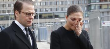 Kronprinsesse Victoria gråter for ofrene: - En enorm sorg