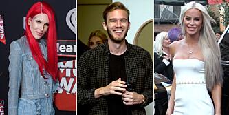 Verdens mest berømte Youtube-stjerner