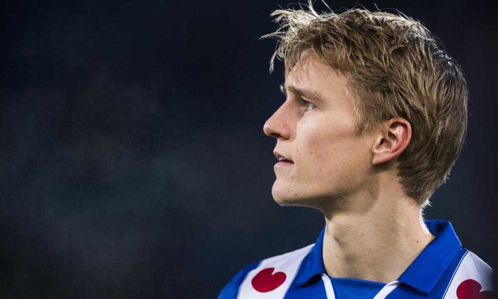 Martin Ødegaard spilte hele kampen da Heerenveen slo Sparta Rotterdam fredag. Foto: Jon Olav Nesvold / NTB scanpix