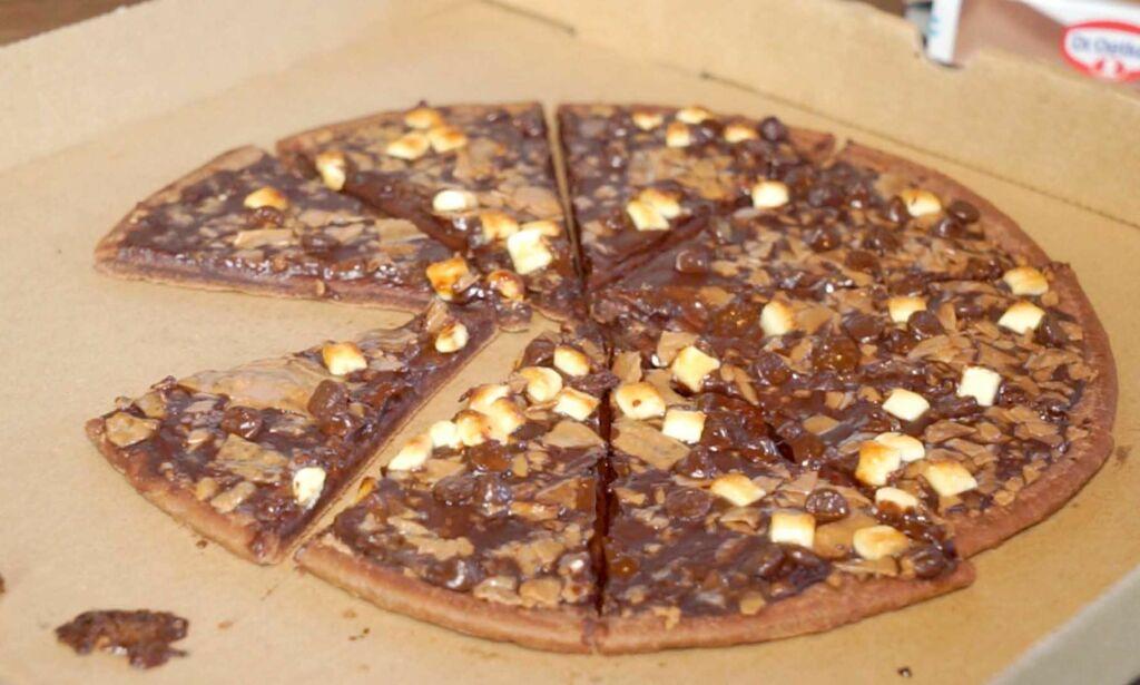 image: - Sjokoladepizzaen er en av våre beste lanseringer noensinne: Den kan likevel forsvinne fra butikkene