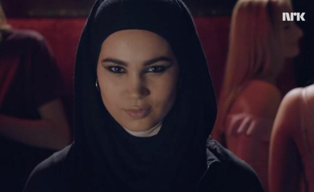 MYSTISK: Fansen venter i spenning på å finne ut hvilke temaer Sana Bakkoush' «SKAM»-sesong tar opp... FOTO: NRK