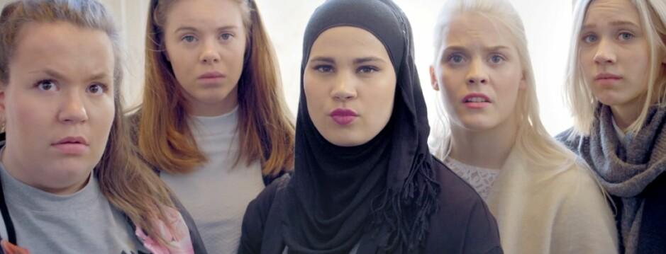 I FOKUS: Sana er hovedperson den nye «SKAM»-sesongen. FOTO: NRK