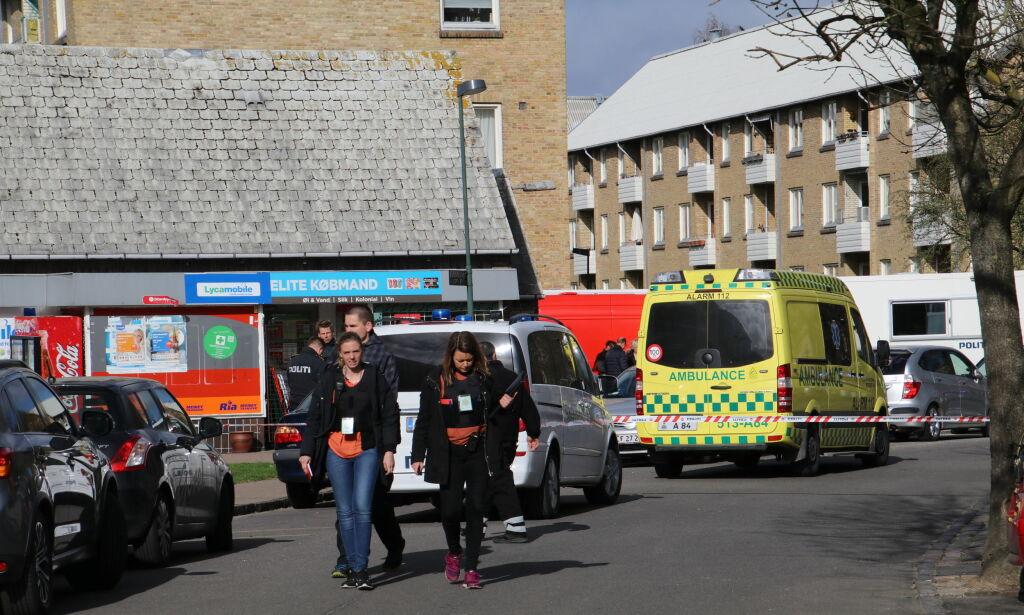 image: Tre barn og mor funnet drept i leilighet i København. Barnefar pågrepet