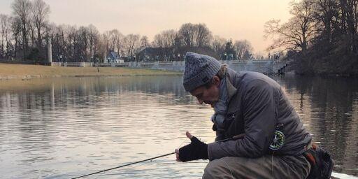 image: Ørreten biter i Oslo - slik arter fiskefangsten seg midt i byen