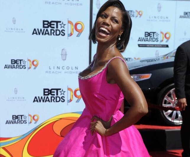 TIDLIGERE REALITYDELTAKER: Omarosa har deltatt i «The Apprentice» hele tre ganger. Her er hun avbildet under BET Awards i 2009. Foto: NTB Scanpix