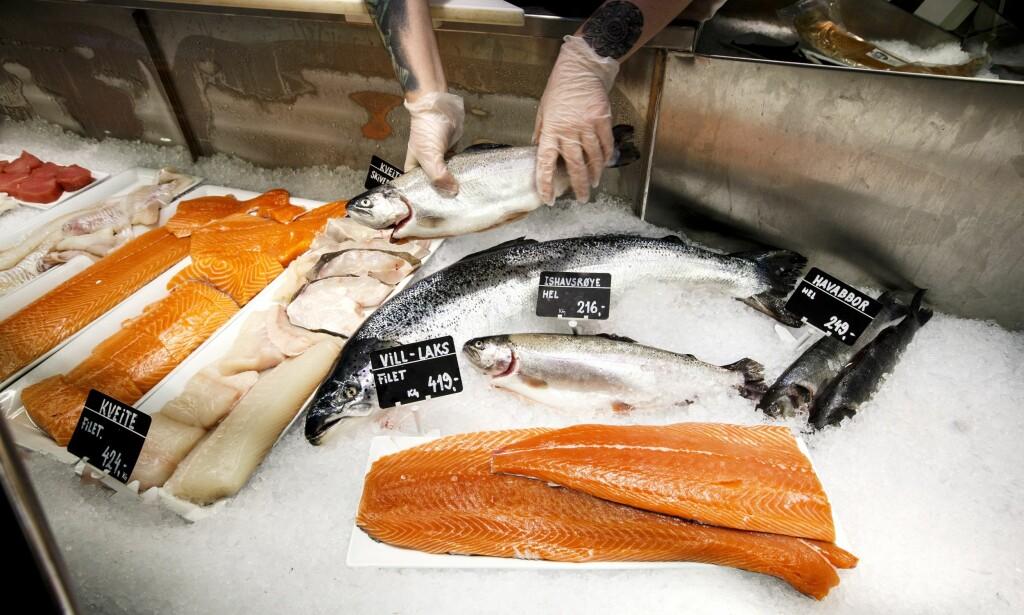 Uro i sjømarkedene: Sjømatindeksen har falt 20 prosent i år. Foto: NTB Scanpix