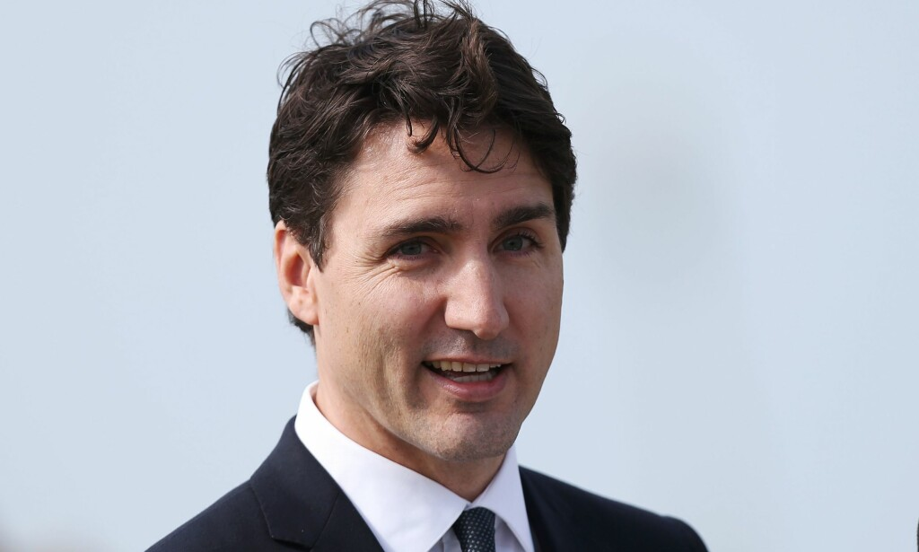 LEVERTE PÅ VALGLØFTE: Canadas statsminister Justin Trudeau leverte i går på valgløftet om å fremme lovforslaget Cannabis Act, som med virkning fra 1. juli 2018 legaliserer cannabis i Canada. Foto: Charly Triballeau / Afp / NTB Scanpix