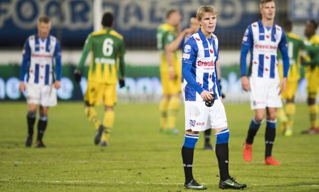 STÅR VED AVGJØRELSEN: Martin Ødegaard angrer ikke på at han valgte Heerenveen. Foto: Jon Olav Nesvold / NTB scanpix
