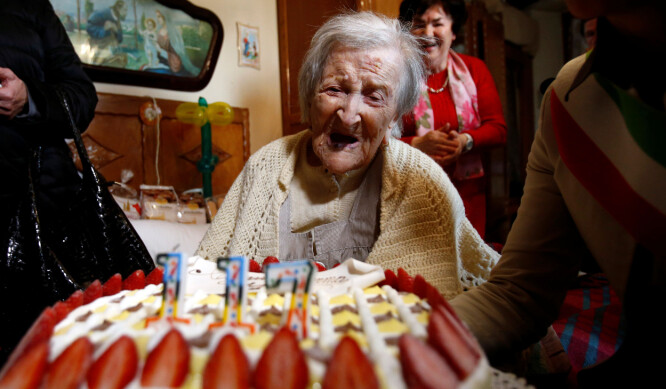 Verdens eldste er død