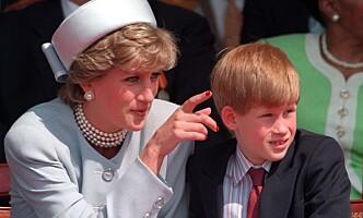 <strong>DØDE:</strong> Prins Harry var bare tolv år gammel da mora Diana døde i 1997. Foto: Pa / NTB Scanpix
