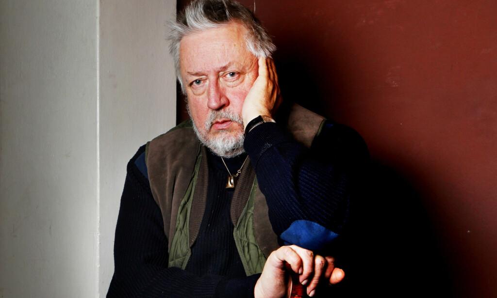 IKKE IMPONERT: Leif G. W. Persson er ikke overbevist om at det var Stig Engström som drepte statsminister Olof Palme. Foto: Håkon Mosvold Larsen / Scanpix